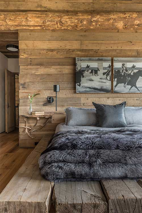 Pearson design group freedom lodge for Decoration chambre homme