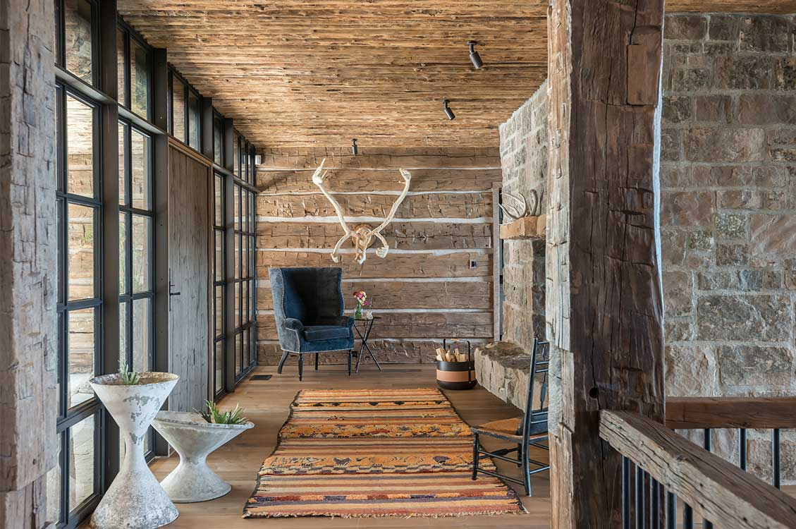 Pearson design group freedom lodge - Chalet rustique montana pearson design group ...