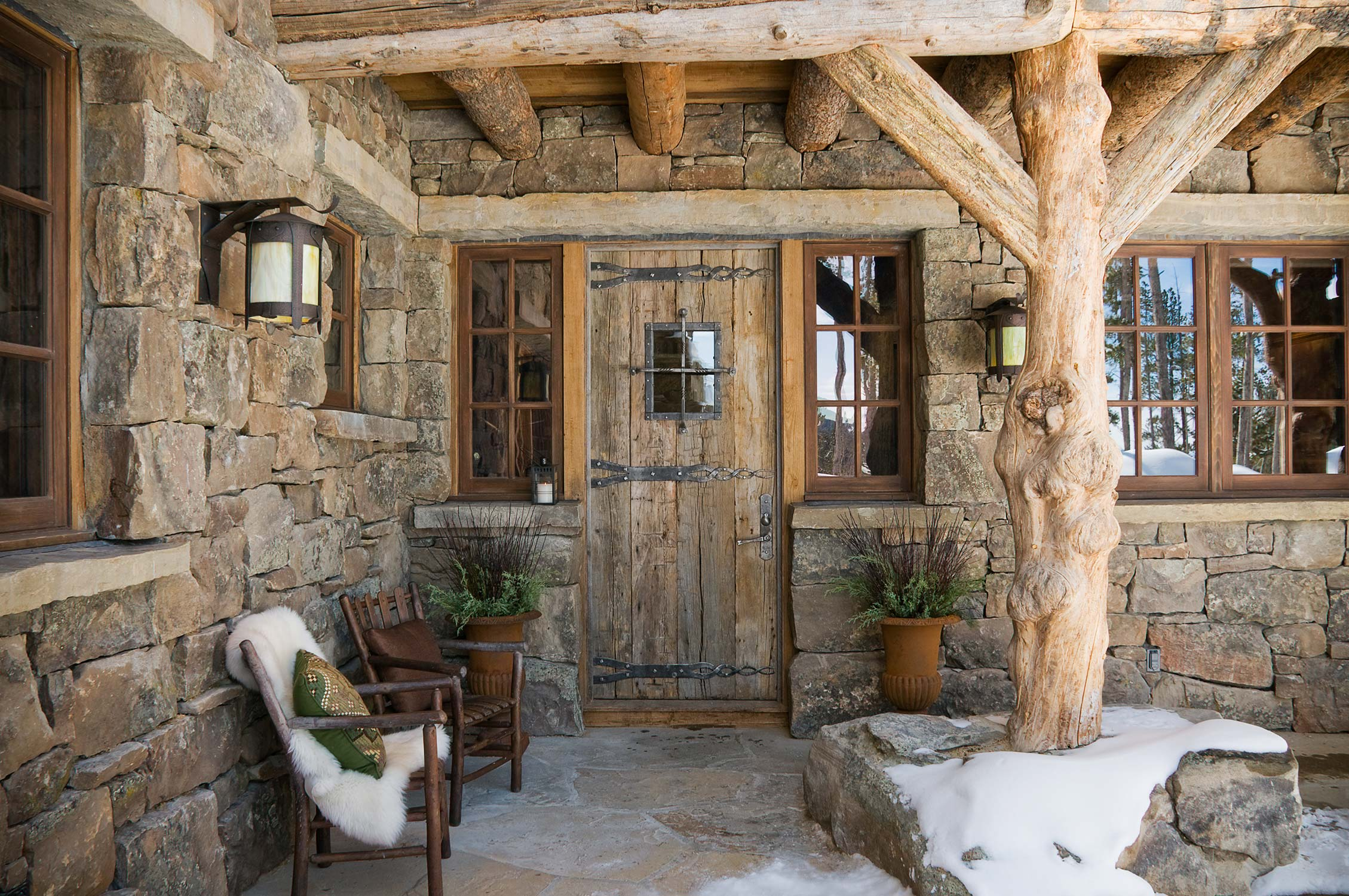 Wood Porches Designs