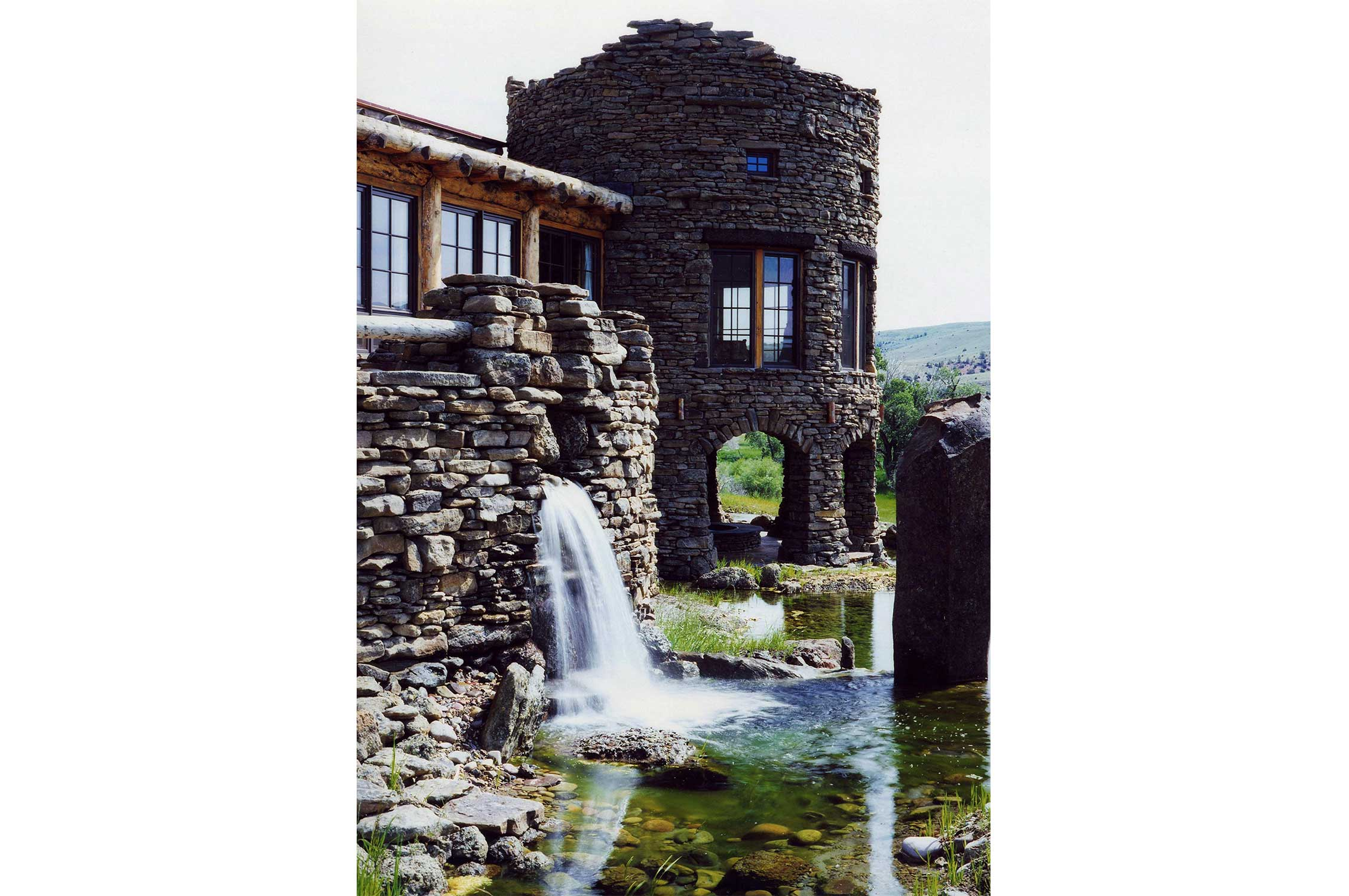 Pearson design group running water - Chalet rustique montana pearson design group ...