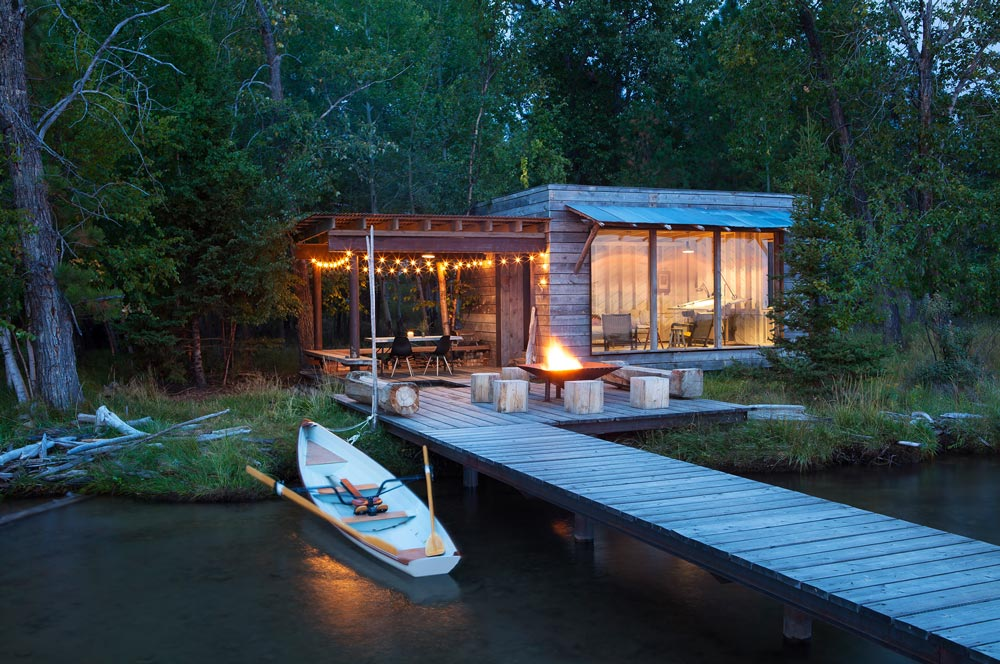 Pearson Design Group Northshore Cabin