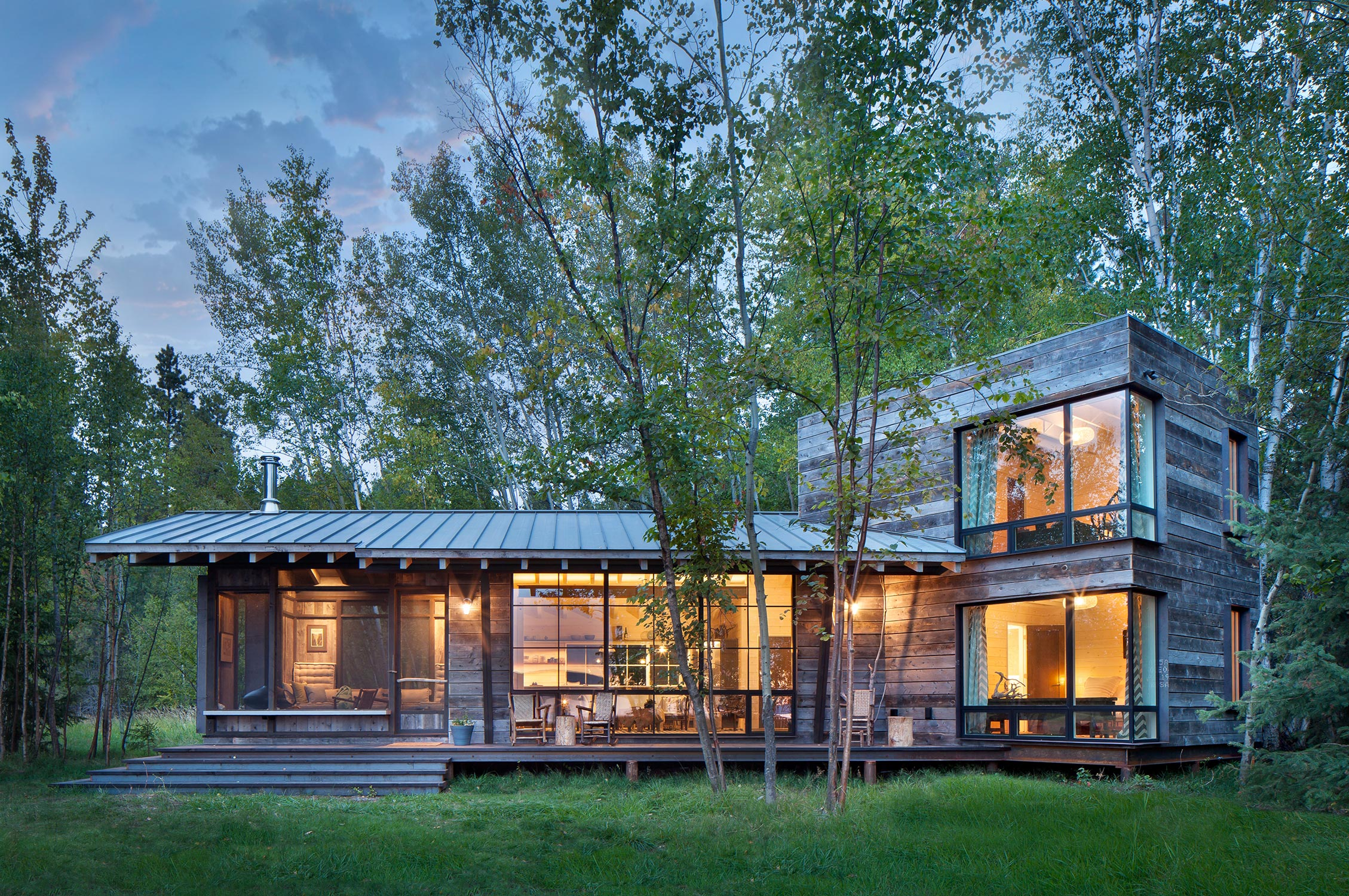 ... Northshore Cabin By Pearson Design Group