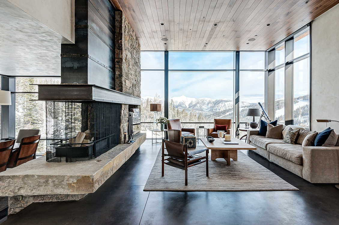 Mountain modern montana • interior design