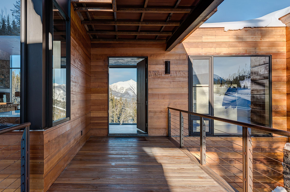 Pearson design group mountain modern Mountain home interiors