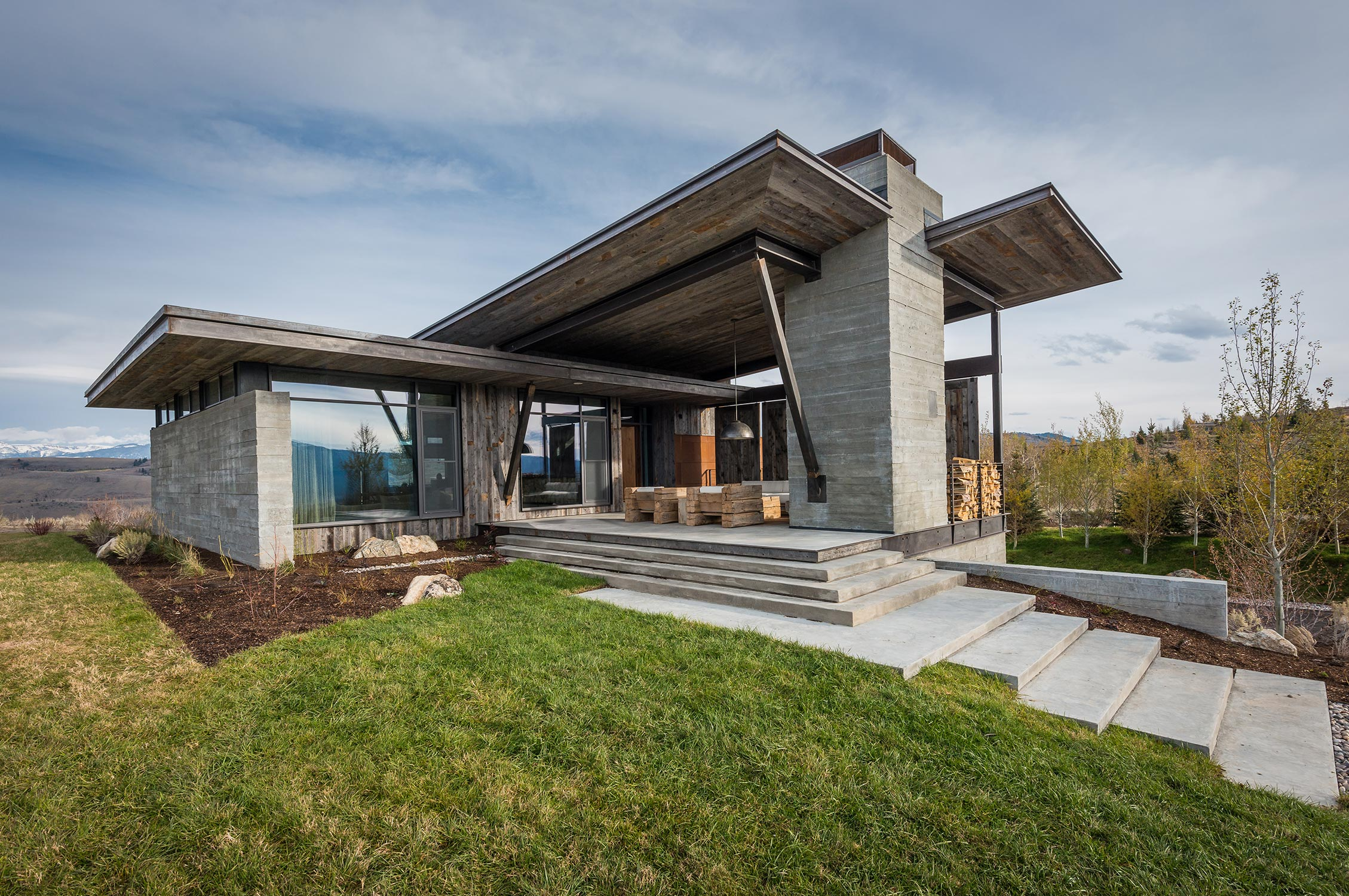 Pearson design group architecture services for Mountain modern architecture
