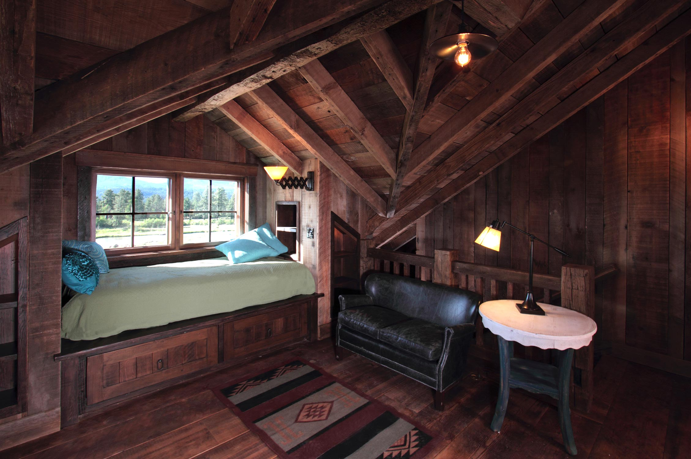 Pearson design group rbmb ranch - Chalet rustique montana pearson design group ...