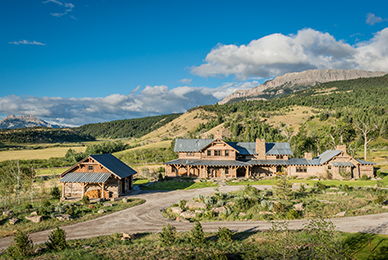 montana mountain ranch
